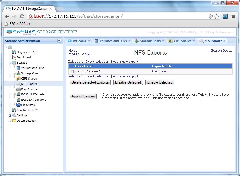nfs-export