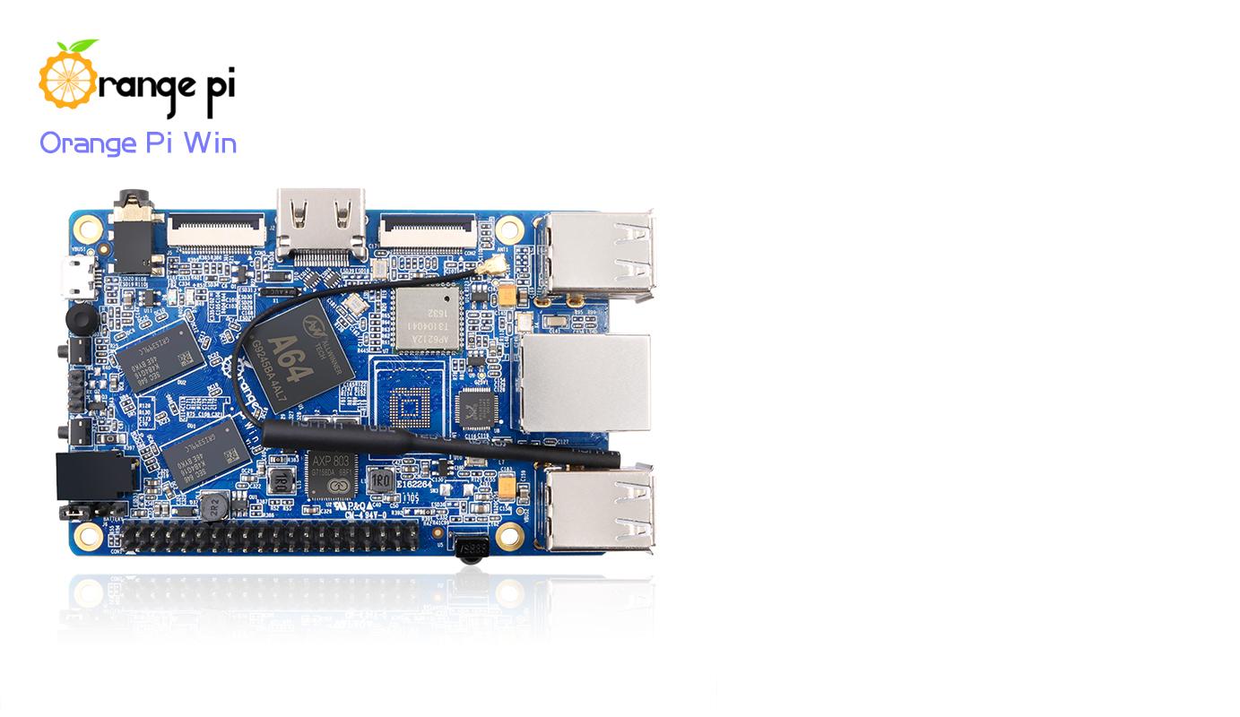 Allwinner A64搭載のOrange Pi Winが$28 41で販売開始 – OSAKANA TAROの